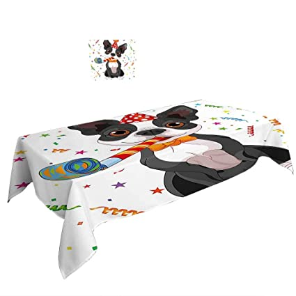 Amazon Com Warm Family Rectangular Table Cloth Birthday Decorations