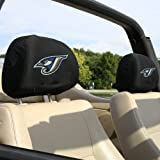 Toronto Blue Jays MLB Headrest Covers (2 Pack) Covers