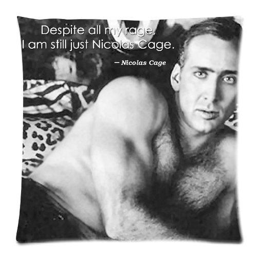 Amazon.com: Personalized Nicolas Cage Pillowcase Covers ...