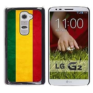 TopCaseStore / la caja del caucho duro de la cubierta de protección de la piel - Bolivia Grunge Flag - LG G2 D800 D802 D802TA D803 VS980 LS980