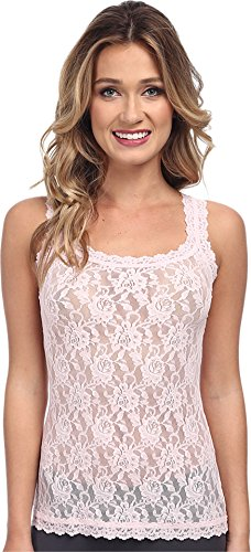 Hanky Panky Women's Signature Lace Unlined Cami, Bliss Pink, X-Small ()