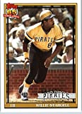 2016 Topps Archives #259 Willie Stargell Pittsburgh Pirates Baseball Card in Protective Screwdown Display Case