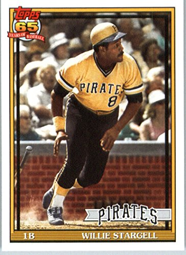 (2016 Topps Archives #259 Willie Stargell Pittsburgh Pirates Baseball Card in Protective Screwdown Display)