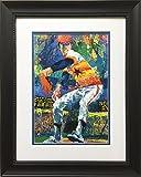 "LeRoy Neiman ""Nolan Ryan"" Newly CUSTOM FRAMED Art Print"