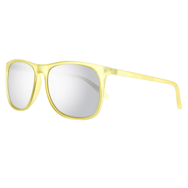 Polaroid PLD 6002/S JB PVI Gafas de sol, Amarillo (Transp Yellow/Grey Silmir Pz), 56 Unisex-Adulto