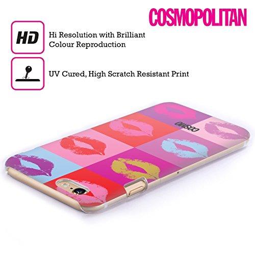 Official Cosmopolitan Pop Art Kiss Mark Hard Back Case for Apple iPhone 4 / 4S