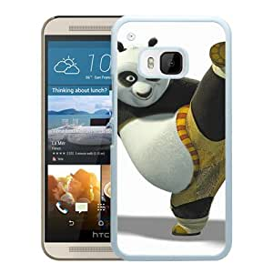 YTSKung Fu Panda For HTC ONE M9 White Case Cover