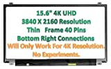 LTN156FL02-L01 LP156UD1 SP A1 4K 38402160 UHD eDP 15.6'' LCD LED Display Screen