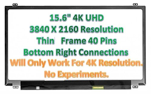LTN156FL02-L01 LCD Slim Screen 4K UHD 3840X2160 40PIN New Grade A for Lenovo Y50-70 15.6""