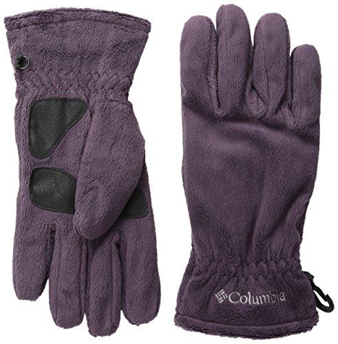 Columbia Women's Hotdots Gloves, Dusty Purple, Large
