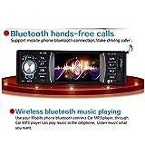 Regetek-36-Single-DIN-Bluetooth-Car-Stereo-Audio-Radio-FM-Receiver-1080P-Video-Player-Mp3SDUSBAUX-inRear-View-Camera