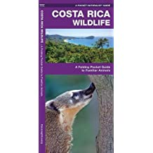 Costa Rica Wildlife: A Folding Pocket Guide to Familiar Species