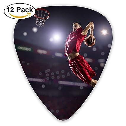 Guante de baloncesto Dunks Jump Guitar Pick 12pack: Amazon ...
