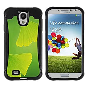 Suave TPU GEL Carcasa Funda Silicona Blando Estuche Caso de protección (para) Samsung Galaxy S4 IV I9500 / CECELL Phone case / / Two leaves /