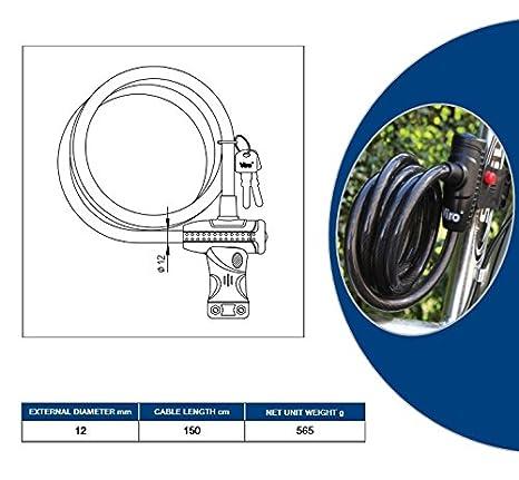 Cerradura de cable trenzada de alta calidad CAYMAN ...