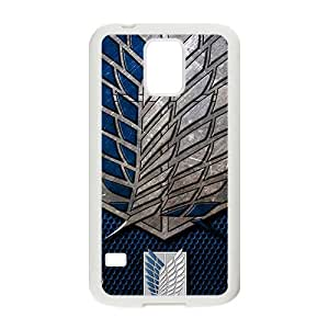 Happy Attack On Titan Cell Phone Case for Samsung Galaxy S5
