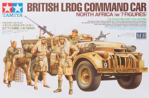 Tamiya America, Inc 1/35, British LRDG Command Car, 7pc, TAM32407 (Best British Cars Ever)