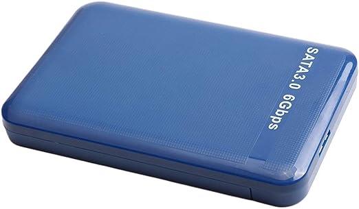 B Baosity 外付けハードディスクドライブ 2.5インチ USB3.0 SATA HDDエンクロージャー 高速 プラスチック ポータブル - 500GB