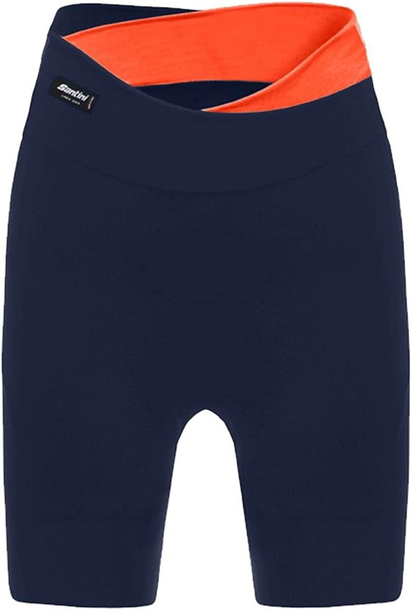 TALLA XL. Santini Sfida Women's Pantalones Cortos de Ciclismo, Mujer