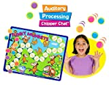 Auditory Processing Chipper Chat Magnetic Game & CD-ROM - Super Duper Educational Learning Toy for Kids