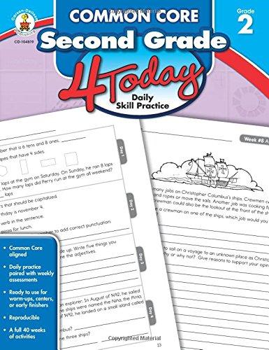 Common Core Second Grade 4 Today: Daily Skill Practice (Common Core 4 Today)