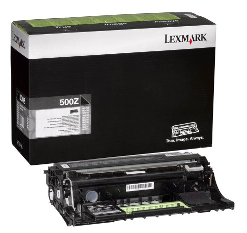 Photoconductor Image Drum - Genuine Lexmark 500Z Imaging Unit [60,000 Pages]