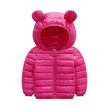 Hot Baby Girls Hooded Coat Jacket Toddler Kids Rabbit Ear Hoodies Outfit Clothes