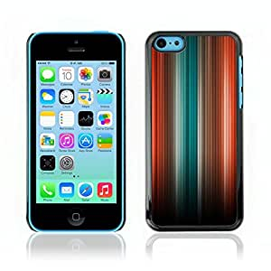 Carcasa Funda Case // V0000410 Light Abstract Colour Spectrum // Apple iPhone 5C