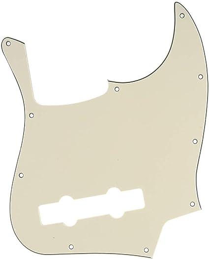 Jazz J Bass Pickguard 4 ply Black Pearl Fits Fender Standard Guitar USA//MIM