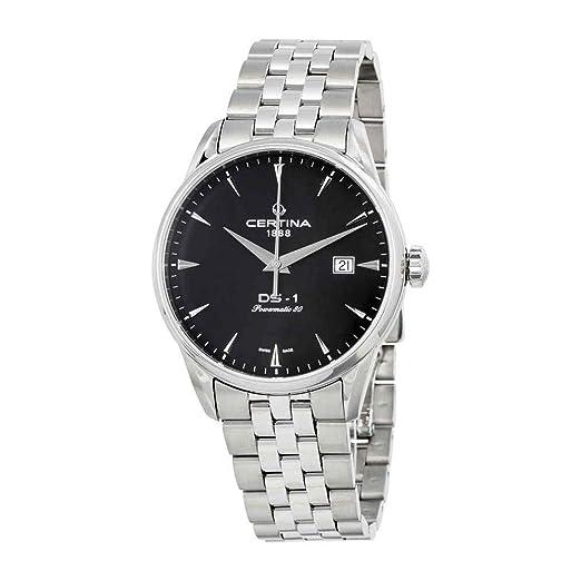 Certina DS-1 Powermatic C029.807.11.051.00 Reloj Automático para hombres Reserve de marcha de 80 horas: Amazon.es: Relojes