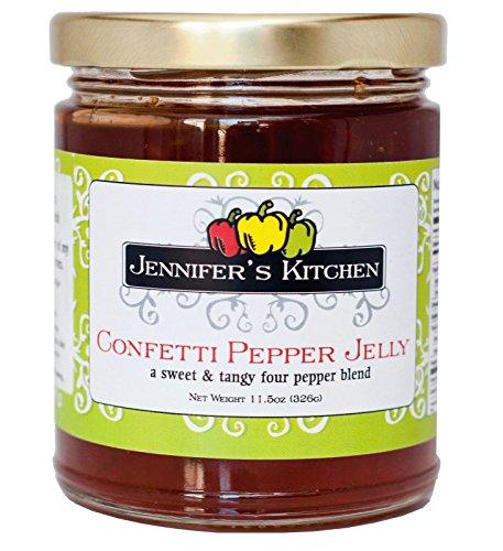 Jennifer's Kitchen Pepper Jelly, - Mild Jelly Pepper