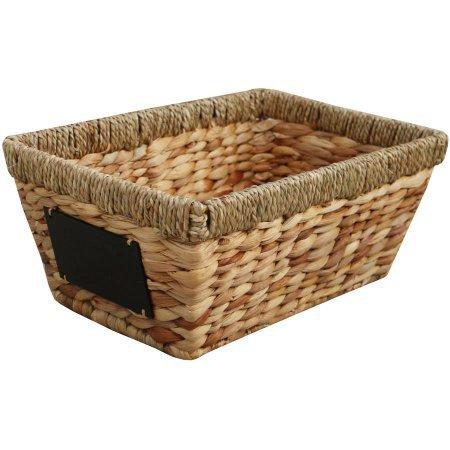 Better Homes and Gardens Hyacinth Twist Media Decorative Basket (1)
