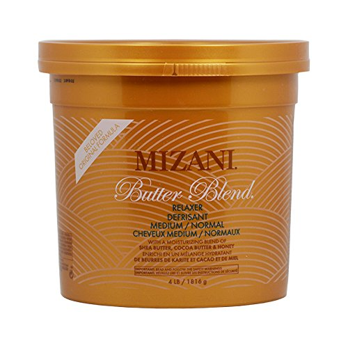 Mizani Medium/Normal Butter Blend Relaxer for Unisex, 4 Pound by MIZANI