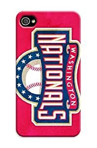 iphone 5 5s Protective Case,3D Best Baseball iphone 5 5s Case/Washington Nationals Designed iphone 5 5s Hard Case/Mlb Hard Case Cover Skin for iphone 5 5s