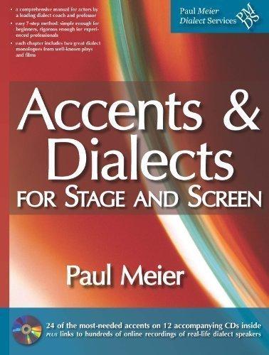 Accents & Dialects for Stage and Screen (includes 12 CDs) (Movie Accent)
