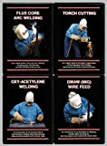 GMAW & Flux Core & Oxy-Acetylene & Torch Cutting (4 DVD Welding Set!)