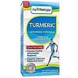 NuTherapy Turmeric 1000mg, Veggie-Capsules (120ct.) x6 AS