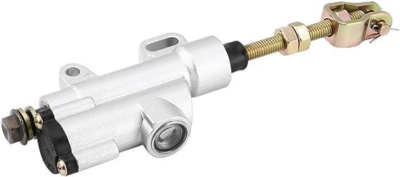 White Qiilu QL05955 Pompa freno idraulica per pompa freno posteriore per moto