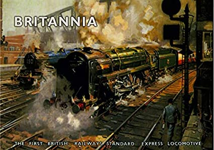 Amazon com: Britannia The First British Railways Express