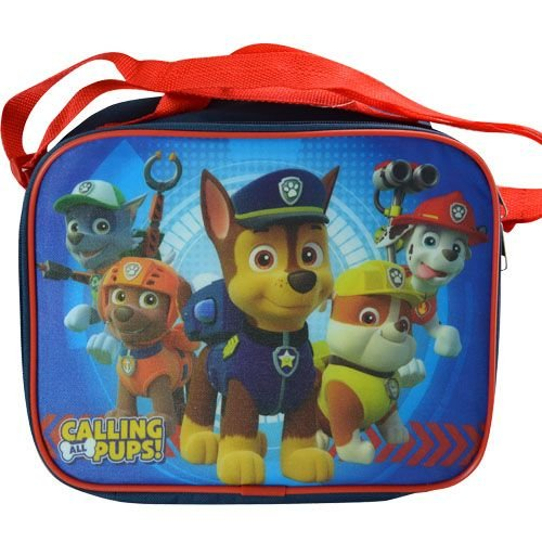 Paw Patrol Zippered Lunch Box Bag Kit with Strap ()