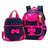 Best Barbie Book Bags - Donalworld Girls' Backpack Set 2 Pieces Bookbag School Review