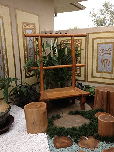 Teak crosscuts or cross sections of a tree, great for tables, walkways, clocks (Walkway Tree)