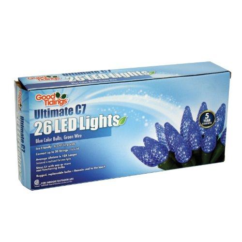 Led Diamond Cut C7 Lights - 8