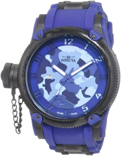 - Invicta Men's 1196 Russian Diver Collection Camo Watch