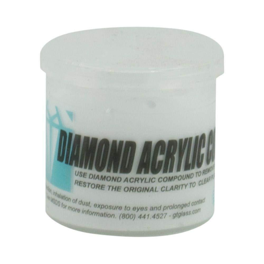 Diamond Clear Acrylic Polishing Compound - 1oz Glass Technology