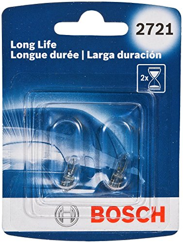 Bosch Automotive 2721LL 2721 Light Bulb, 2 Pack