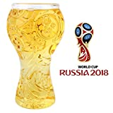 Beer Glasses 2018 Russia FIFA World Cup High-Borosilicate Glass Mug 40cl/400ml for Men Soccer Mug