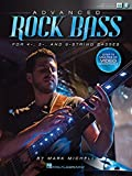 Advanced Rock Bass: for 4-, 5- and 6-String Basses by Mark Michell (2015-12-01)