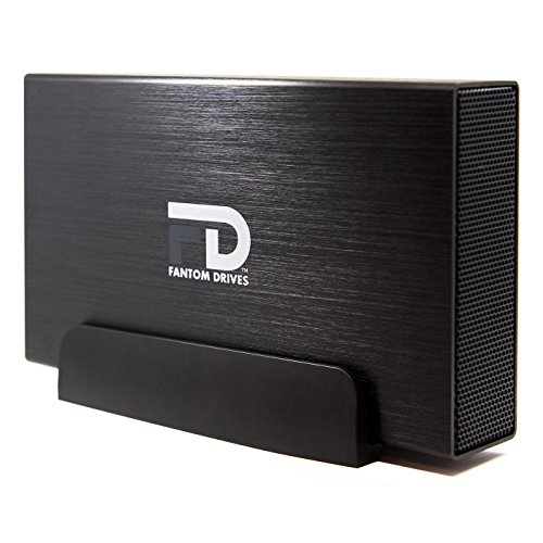 Fantom Drives 5TB External Hard Drive - USB 3.0/3.1 Gen 1 Aluminum Case - Mac,...