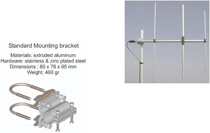 SIRIO WY155-3N Antena direccional 3 elementos YAGI VHF ...